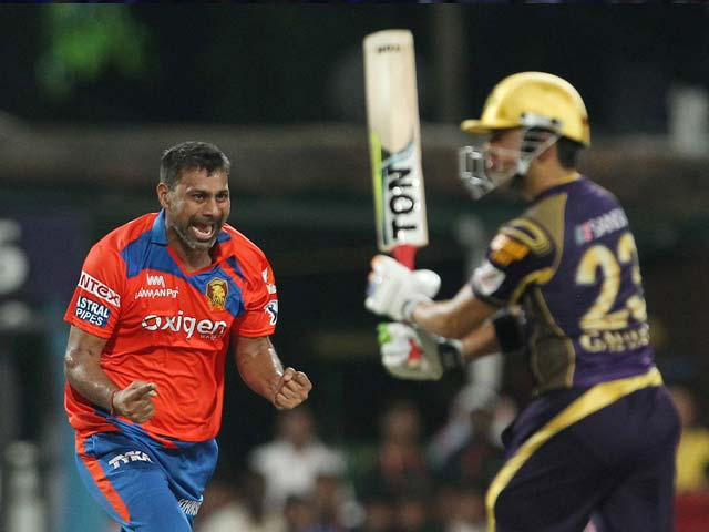 IPL: Gujarat Lions beat Kolkata Knight Riders, Go On Top