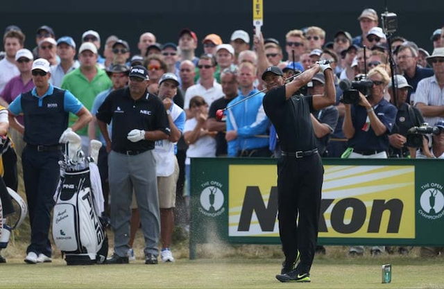 Tiger Woods Back to Front