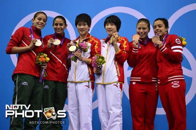 London 2012: The medal winners on Day 5