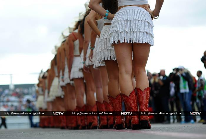 US Grand Prix: The Texas grid girls