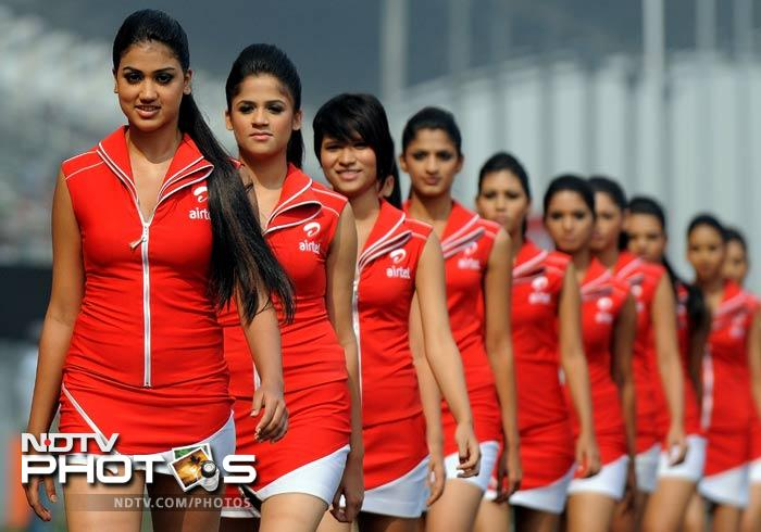 Indian GP: Meet the Grid Girls