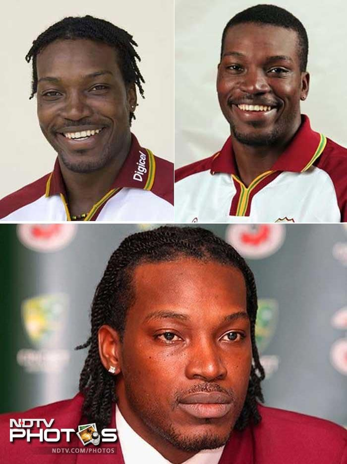Cricketers and their famous hairdos