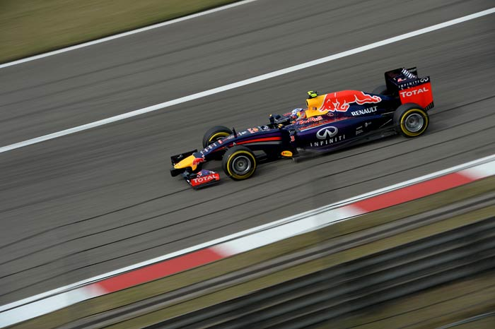 Chinese Grand Prix: Red Bulls storm in together