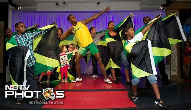 Usain Bolt has a home in Madame Tussauds
