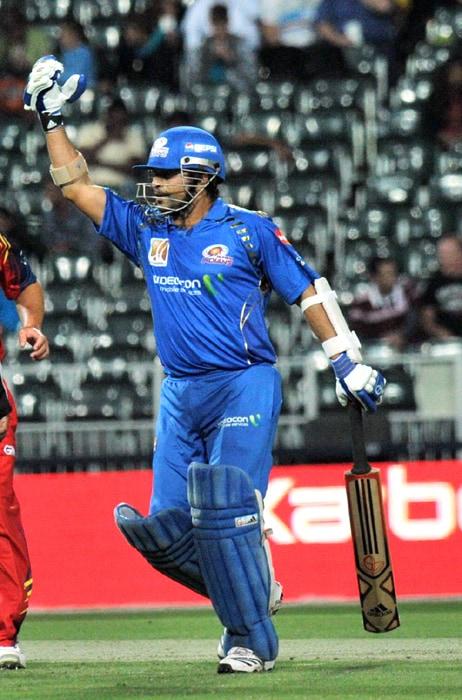 CLT20: Mumbai vs Lions
