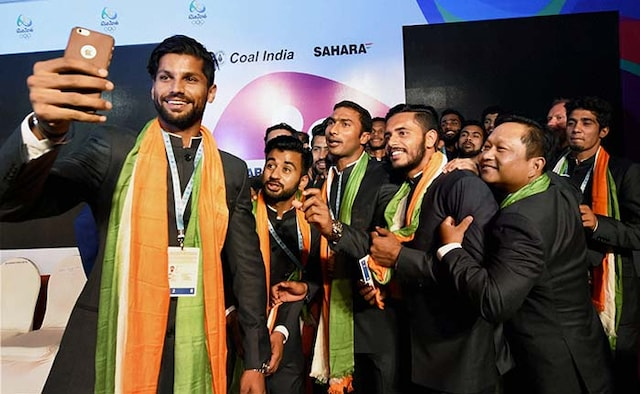 Sreejesh Takes Guard As India Aim For Medal At Rio
