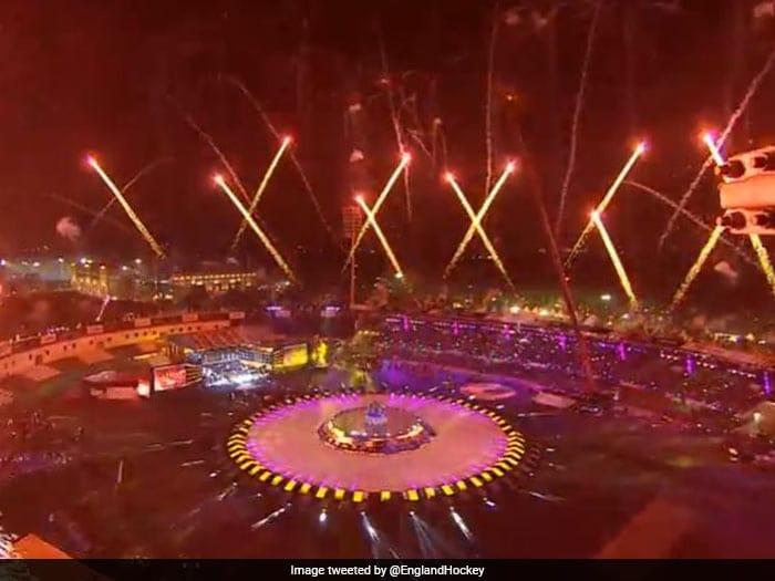 Hockey World Cup 2018: शुरू हुआ हॉकी का महाकुंभ, ओपनिंग सेरेमनी में शाहरुख और माधुरी पर रहीं निगाहें