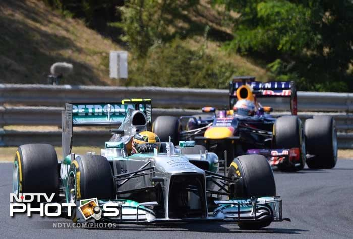 Hungarian GP: Hamilton breaks Mercedes duck