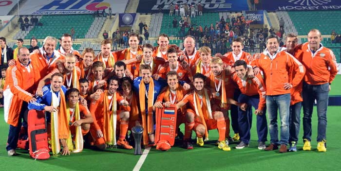 Netherlands clinch Hockey World League Final gold