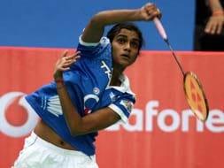 Photo : Indian Badminton League: Hyderabad, Awadhe register victories