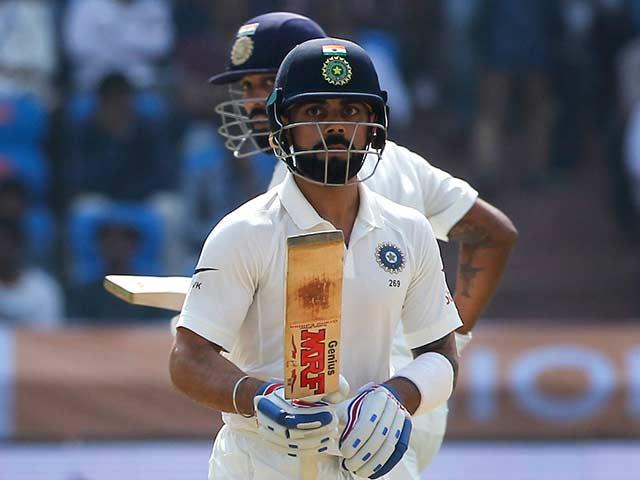 Hyderabad Test, Day 1: Virat Kohli Puts India In Command