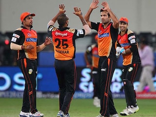 IPL: Pollard effort in vain as Hyderabad clinch 15-run win