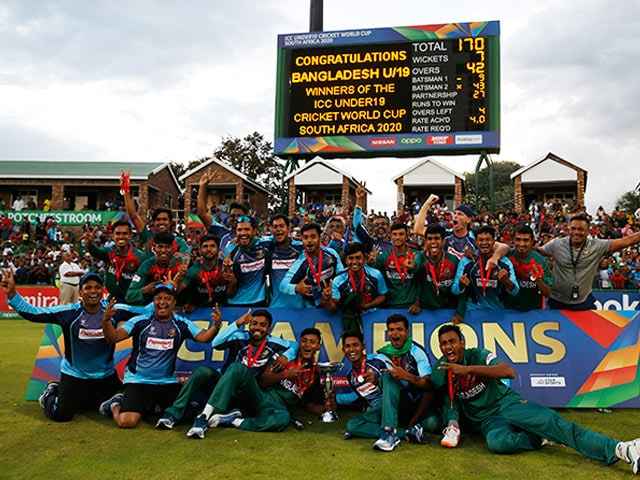 Bangladesh Beat India In Final To Clinch Maiden Under-19 World Cup Title