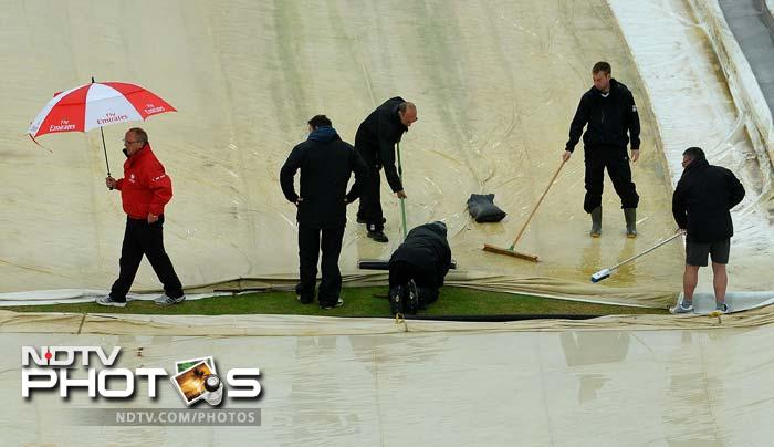 ICC Champions Trophy: Australia-New Zealand clash ends in stalemate as rain plays spoilsport