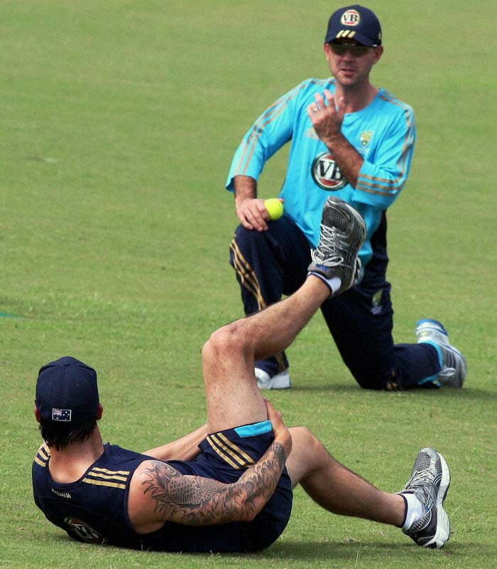 Australians gear up for India