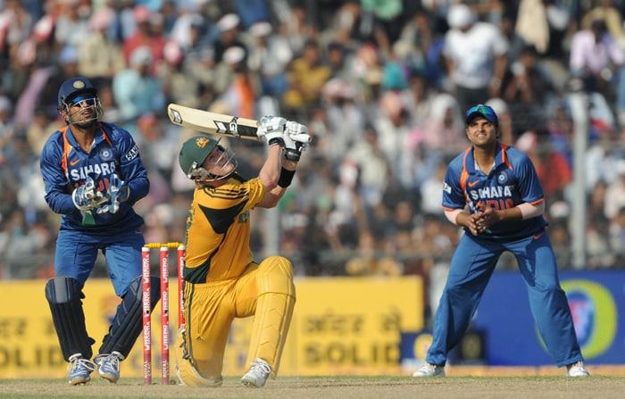 Australia clinch ODI series