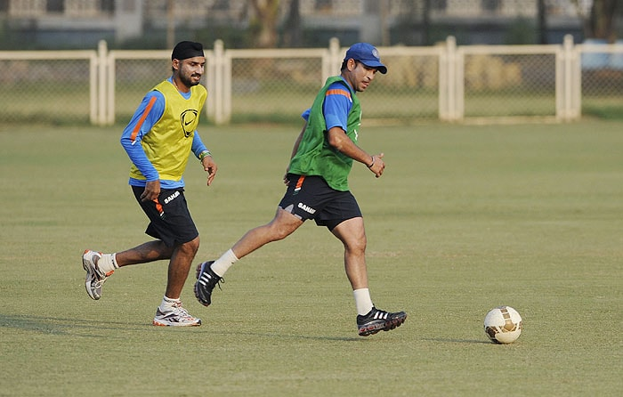 Football session for Team India