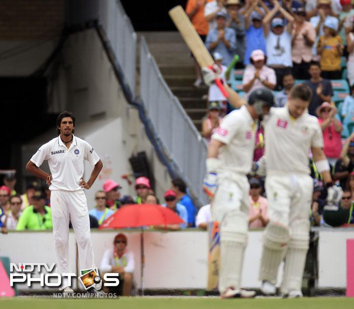 India vs Australia: 2nd Test, Day 3