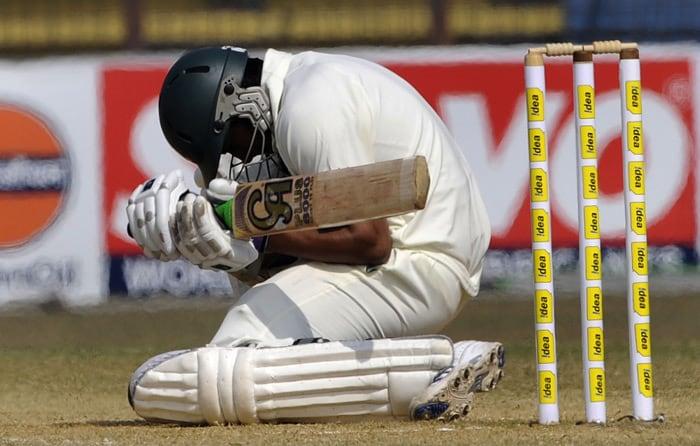 India win first Test vs B'desh