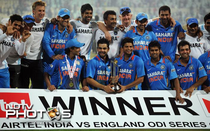 India complete clean sweep vs England