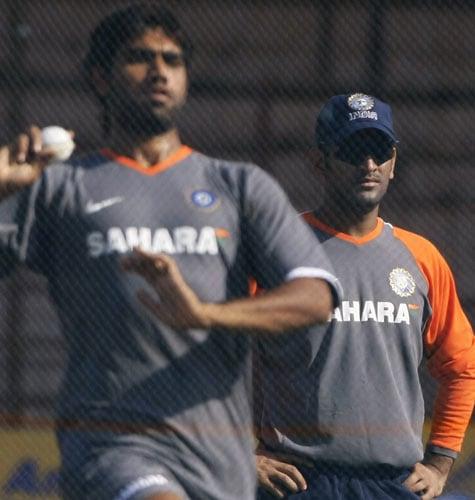 Ind vs Eng: 1st ODI practice session
