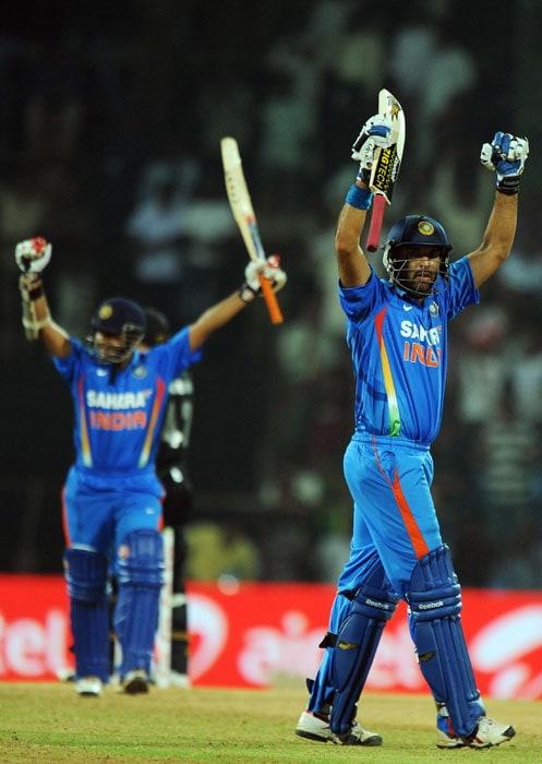 India sweep series 5-0