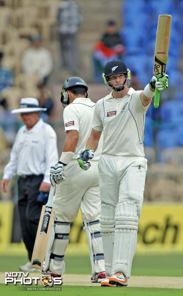 2nd Test, Day 1: Taylor-ton powers New Zealand vs India