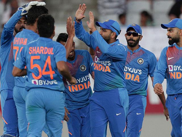 Photo : पहला टी20: श्रेयस और राहुल की तूफानी पारी से भारत ने न्यूजीलैंड को हराया