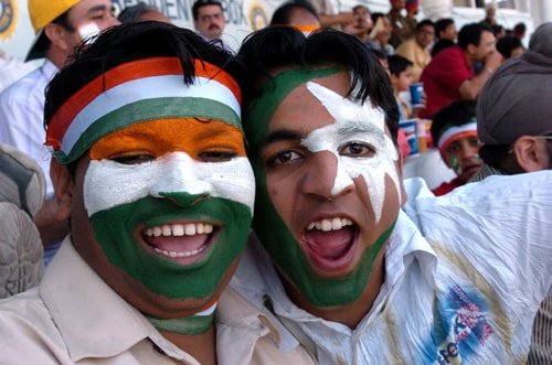 Best 5 matches between India and Pakistan
