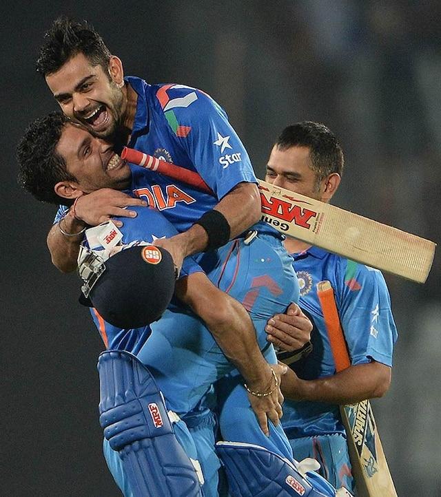World T20: Virat Kohli helps India storm into final