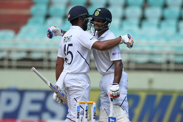 Rohit Sharma Century Puts India In Drivers Seat In 1st Test On Day 1