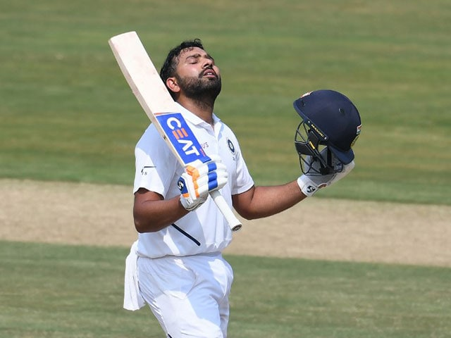 Rohit Sharma Century Puts India In Driver