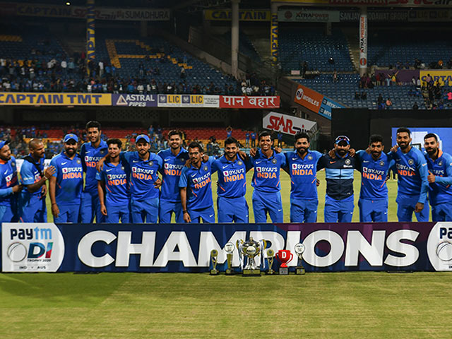 Rohit Sharma, Virat Kohli Guide India To ODI Series Win Over Australia