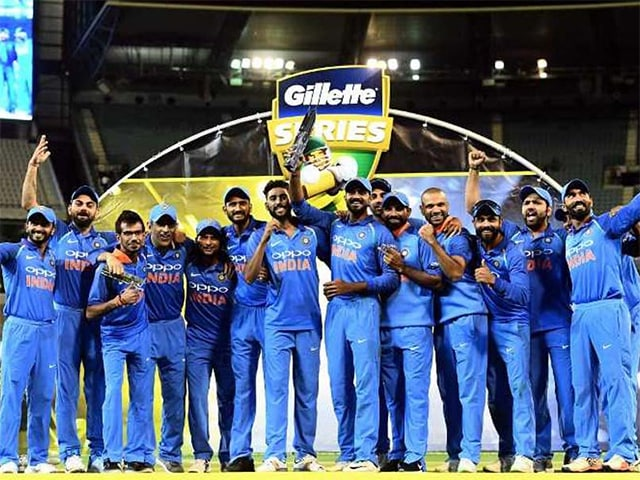 MS Dhoni, Kedar Jadhav Help India Win 1st Bilateral Series In Australia