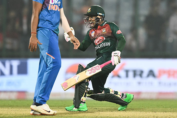 1st T20I: Mushfiqur Rahim Fifty Helps Bangladesh Beat India By 7 Wickets