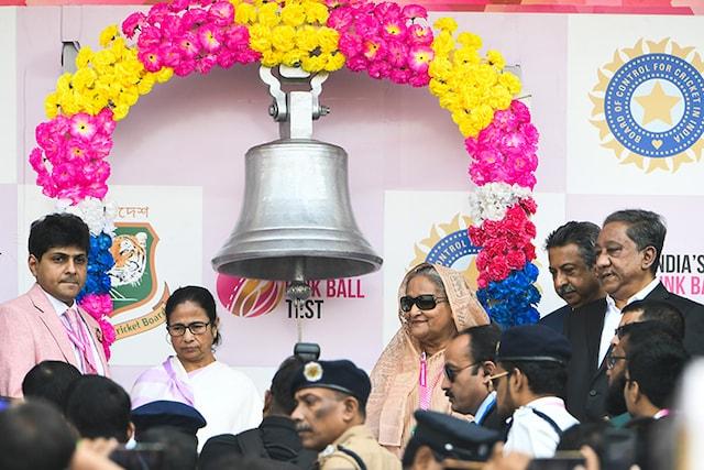 India vs Bangladesh Day-Night Test Gets Underway In Kolkata