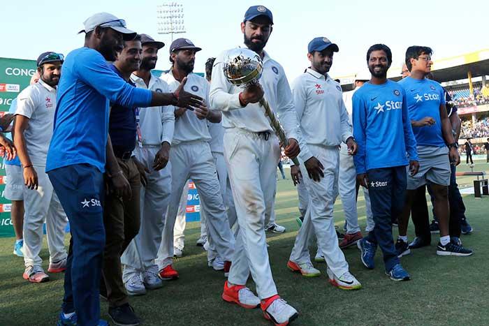 फिर चला अश्विन का जादू, टीम इंडिया ने न्यूजीलैंड को 3-0 से रौंदा