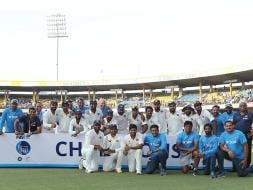 Photo : Ravichandran Ashwin Spins His Magic In Indore As India Rout New Zealand 3-0