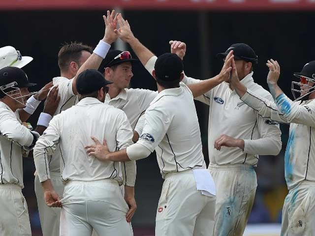 1st Test, Kanpur: New Zealand Fight Back As India End Day 1 On 291/9