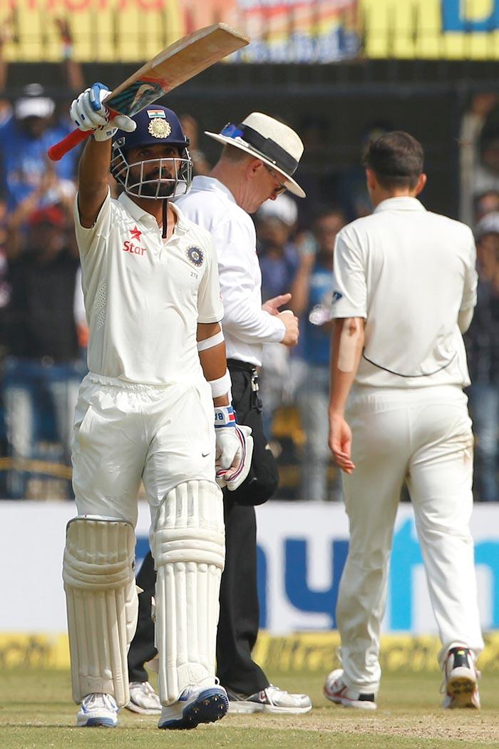 Indore Test, Day 2: Virat Kohli