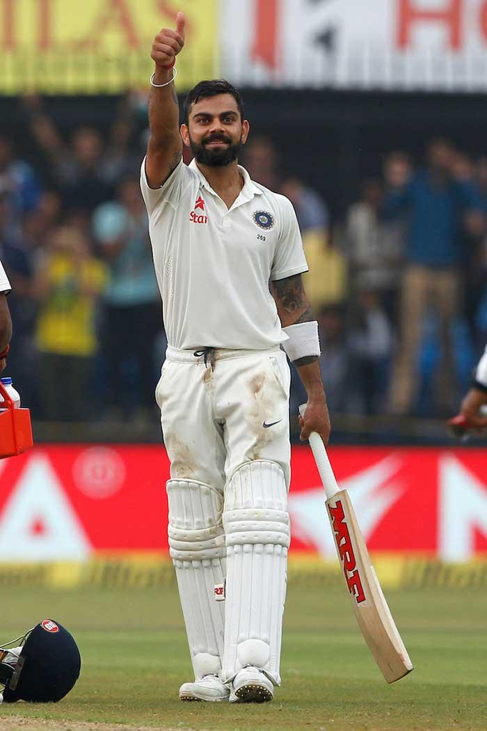 Indore Test: Virat Kohli