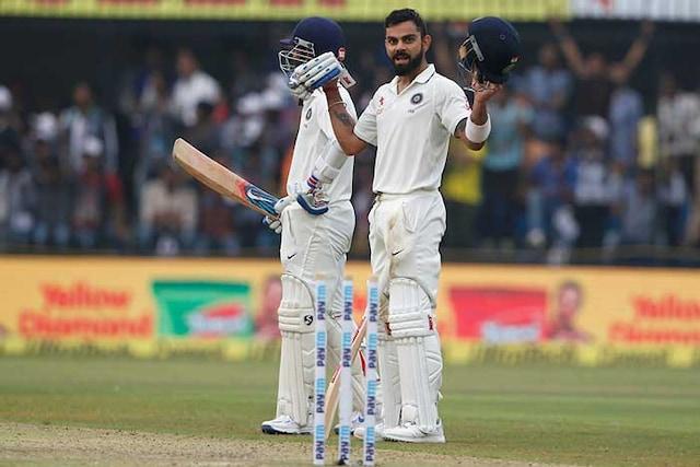 Indore Test: Virat Kohlis Unbeaten Ton Puts India In Control On Day 1