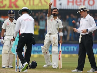 Indore Test: Virat Kohlis Unbeaten Ton Puts India In Control On Day 1