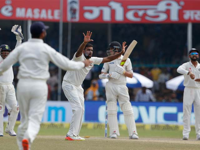 1st Test: Ravichandran Ashwin, Ravindra Jadeja Help India Crush NZ By 197 Runs