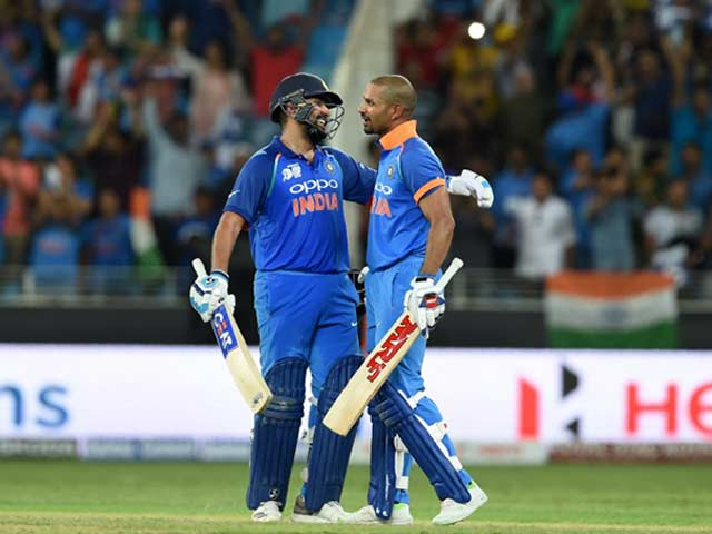 Asia Cup 2018: Rohit Sharma, Shikhar Dhawan Hit Tons As India Crush Pakistan By 9 Wickets