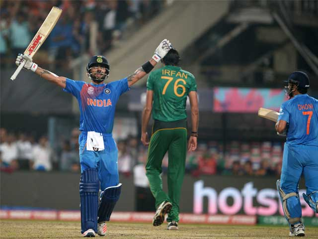 World T20: Kohli's Classy Fifty Helps India Maintain Unbeaten Run Against Pakistan