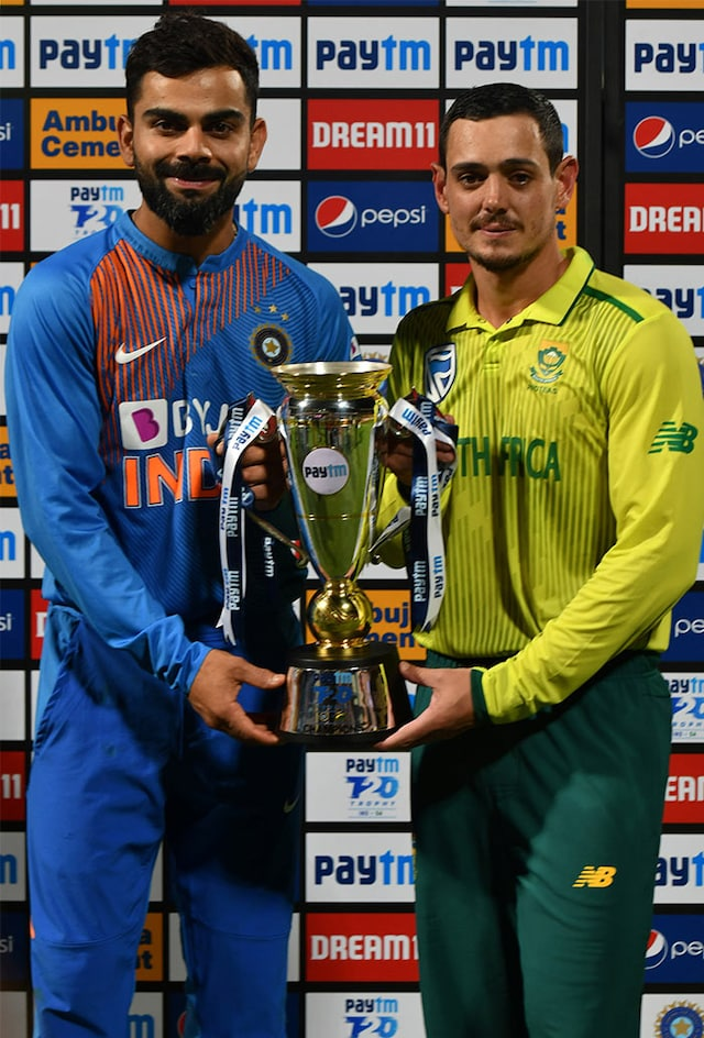 South Africa Draw T20I Series Level With 9-Wicket Win Over India