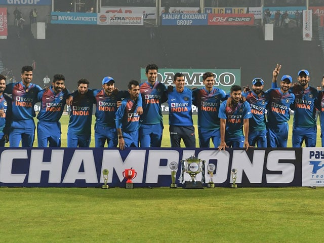 Photo : टीम इंडिया ने श्रीलंका को तीसरे टी20 में हराया, सीरीज 2-0 से जीती