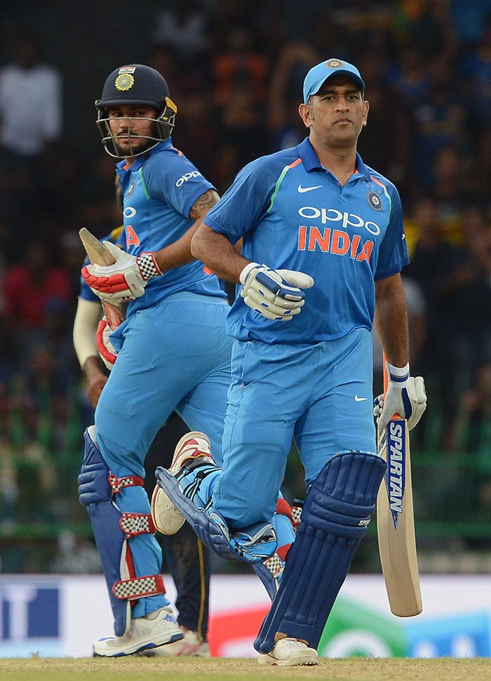 India vs Sri Lanka: MS Dhoni