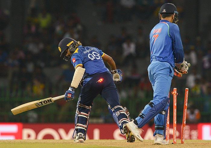 India vs Sri Lanka: MS Dhonis 300th ODI At A Glance